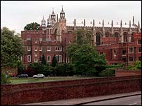 view of Eton College