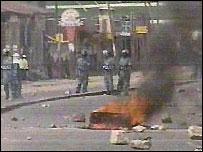 Ethiopian TV riot