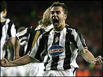 Fabio Cannavaro scored for Juventus