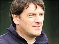 Aberystwyth Town manager Brian Coyne