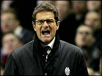 Juve coach Fabio Capello