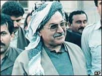 Talabani in 1991