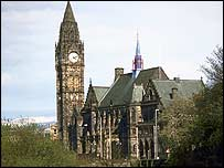 Rochdale Town Hall, pic courtesy of Rochdale Council