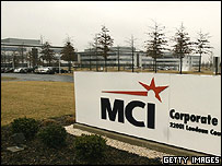 MCI headquarters in Ashburn, Virginia