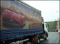 MG Rover truck