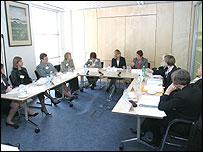 Toshiba roundtable debate