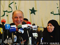 Ahmed Chalabi launches the National Congress Coalition