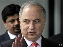 Ahmed Chalabi leaves the US State Department