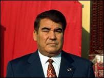 Turkmen President Saparmyrat Niyazov