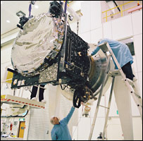 Giove-A being tested (Esa/SSTL)