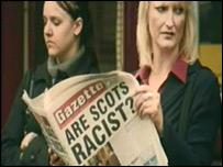 Racism campaign image