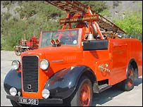 The 1934 Commer Fire Engine