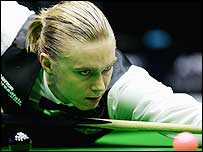 Paul Hunter pictured during the China Open in March