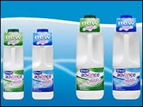 Dairy Crest's St Ivel Advanced milk