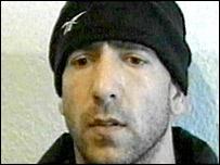 Chechen suspect Adam Dzhabrailov (pic: Russia TV)