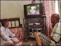 Спутниковое телевидение в иракском доме