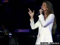 Celine Dion, Getty