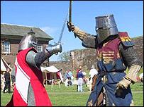 Knights at Carlisle Castle