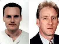 Britons Darren Hickey and Rudi Petschi