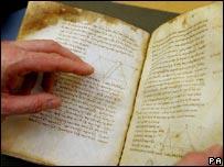 Bodleian manuscript, PA