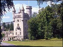 Balmoral Castle, the Royal Family's Scottish home