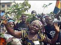 Ogoni marchers
