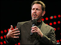 Oracle chairman and CEO Larry Ellison