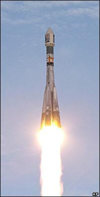 Soyuz launch (AP)
