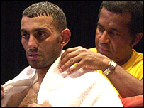 Naseem Hamed and Emanuel Steward