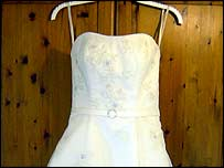 Jenny's wedding dress