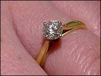 Jenny's engagement ring