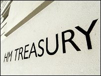 Treasury sign