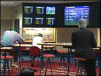 Bookmaker's office