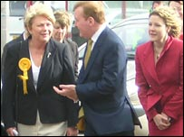 Charles Kennedy at Cardiff International Airport 