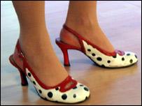 Tara Hamilton-Miller's footwear