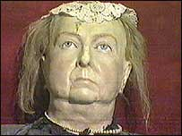 Lifesize figure of Queen Victoria