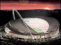 New Wembley as it will look
