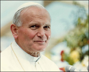 Pope John Paul II/Copyright Pontificia Felici and L'Osservatore Romano
