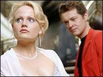 Soprano Rebecca von Lipinski and baritone Mark Stone