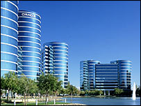 Oracle headquarter in Redwood City, California
