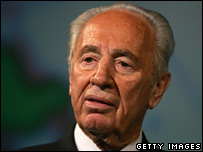 Former Labour Party leader Shimon Peres