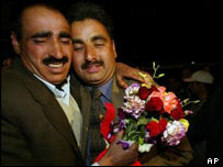 An emotional reunion in Srinagar