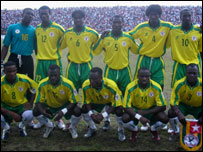 The national team of Togo