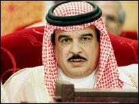 Bahrain's King Hamad bin Issa al-Khalifa