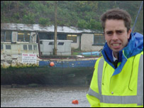 Caernarfon harbour master Richard Jones and the Exact