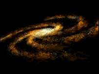 Milky Way impression (Nasa)