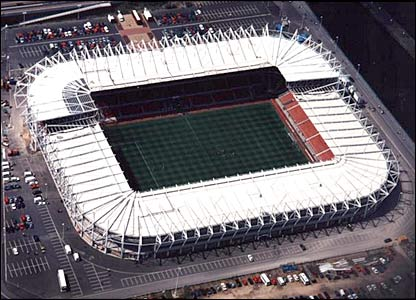 Bbc News In Pictures Changing Face Of England 39 S Stadiums