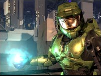 Screenshot from Halo 2, Microsoft