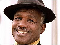 Rudolph Walker as Patrick Trueman in EastEnders