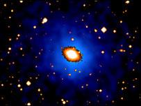 The X-ray halo around NGC 6482 is 700,000 light-years across (Birmingham/Nasa)
